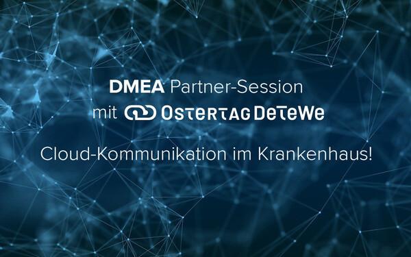 DMEA 21 Ostertag DeTeWe Ascom Partnersession