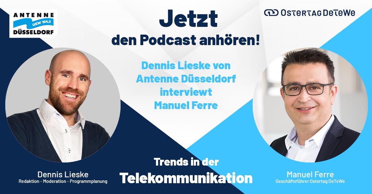 Podcast Düsseldorfer Antenne Ostertag DeTeWe